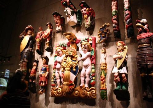 Esculturas de popa del Vasa