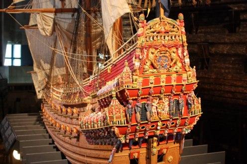 El museo reprodujo una miniatura del barco
