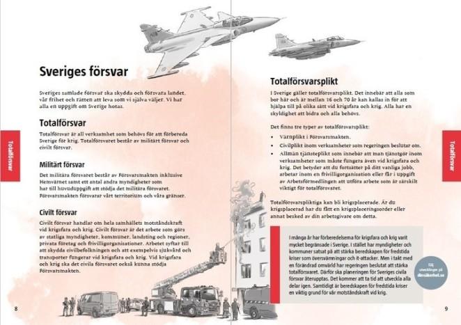 folleto en sueco