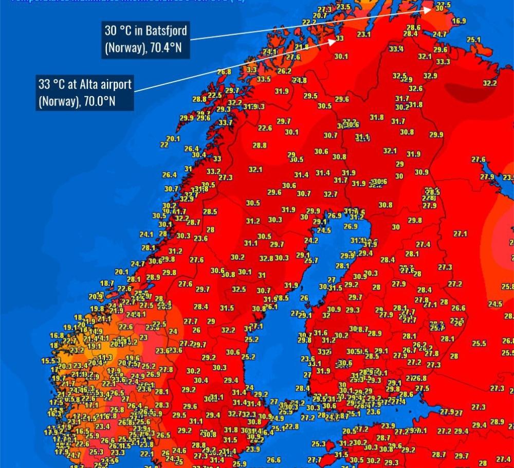 temperaturas en escandinavia 2