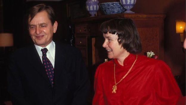 Olof Palme y su esposa Lisbet | Getty Images